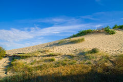 Dunes. Near Nida on the Curonian Spit royalty free stock images
