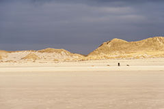 Dunes on Amrum Royalty Free Stock Photos