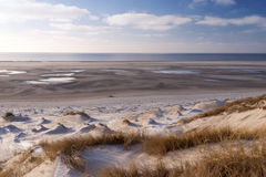 Dunes on Amrum royalty free stock photography