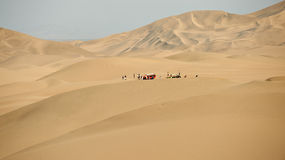 Dunes around Huacachina Stock Photography