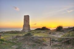 Dunes of Artola 2,Costa del Sol Stock Photography