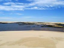Dunes au sao Luis Photos libres de droits