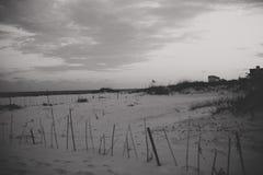 Dunes of fort Morgan Stock Photos