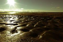 Dunes boueuses Images libres de droits