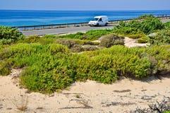 Dunes of Campomarino Royalty Free Stock Photography