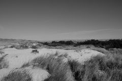 Dunes and Central Valley Stock Photography