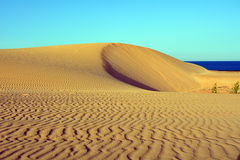 Dunes of Corralejo, Fuerteventura, Canary Islands, Spain. Stock Photo