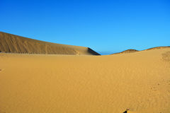Dunes of Corralejo, Fuerteventura, Canary Islands, Spain. Stock Photos