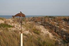 Dunes d'île de Fenwick Photo libre de droits
