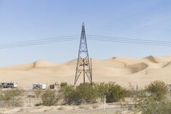 Dunes d'Algones, le comté d'Imperial, la Californie Photos libres de droits