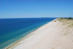 Dunes d'ours de sommeil Lakeshore Images libres de droits