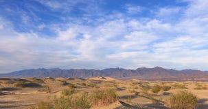 Dunes dans Death Valley, la Californie, Etats-Unis banque de vidéos