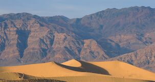 Dunes dans Death Valley, la Californie, Etats-Unis clips vidéos