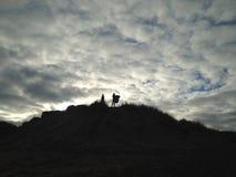 Dunes de Balmedie photographie stock