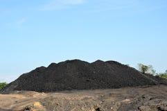 Dunes de charbon Photo libre de droits