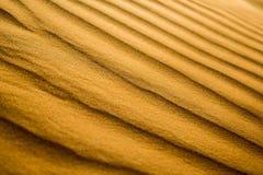 Dunes de désert et de sable dubai images libres de droits