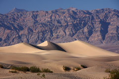 Dunes de Death Valley Images libres de droits