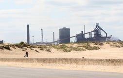 Dunes de fourneau et de sable. Photos stock