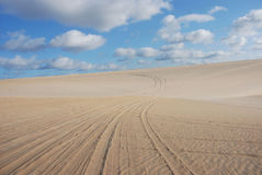 Dunes de genipabu Royalty Free Stock Photos