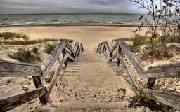Dunes de l'Indiana Photos stock