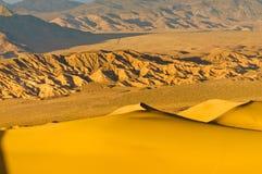 Dunes de mesquite dans Death Valley Photo stock
