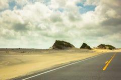 Dunes de route dans Hatteras 4 Photographie stock