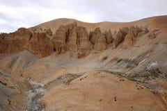 Dunes de sable Images stock