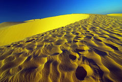 Dunes de sable Photos stock