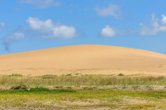 Dunes de sable dans Cabo Polonio, Uruguay Photo stock