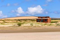Dunes de sable dans Cabo Polonio, Uruguay Photos stock