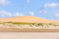 Dunes de sable dans Cabo Polonio, Uruguay Photos stock
