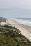 Dunes de sable dans la côte de l'Orégon images libres de droits