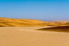 Dunes de sable dans la région du swakopmund Image stock