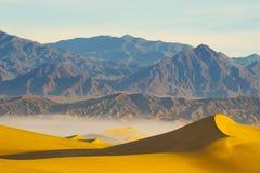 Dunes de sable de désert Photo libre de droits