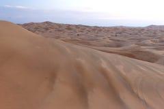 Dunes de sable de désert Images libres de droits