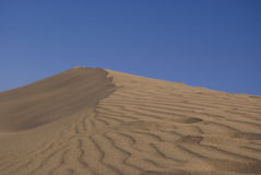 Dunes de sable de désert Images stock