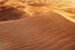 Dunes de sable de désert Image libre de droits