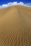 Dunes de sable de désert dans Maspalomas Gran Canaria Photo stock