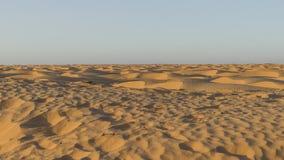 Dunes de sable de désert du Sahara Photographie stock