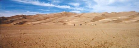 dunes de sable de désert Mexique Photo libre de droits