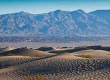Dunes de sable de Death Valley Image stock