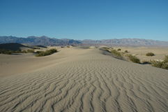 Dunes de sable de Death Valley N.P. Image libre de droits