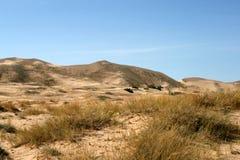 Dunes de sable de Kelso, désert de Mojave, la Californie Images libres de droits