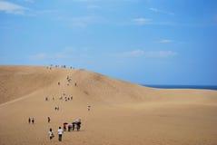 Dunes de sable de Tottori images stock