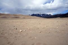 Dunes de sable du Colorado Images libres de droits