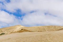 Dunes de sable géantes de Te Paki images stock