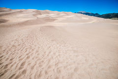 Dunes de sable grandes Images stock