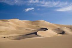 Dunes de sable grandes