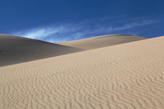 Dunes de sable grandes stationnement national, le Colorado Images libres de droits