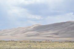 Dunes de sable grandes stationnement national, le Colorado Image libre de droits